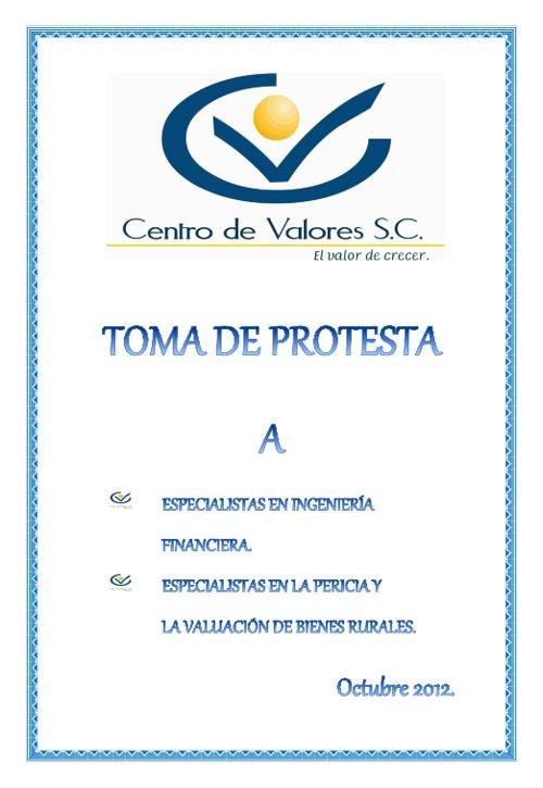 Invitación Especialistas 2012