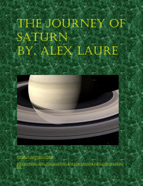 the journy of Saturn