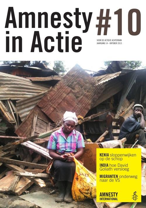 Amnesty in Actie, oktober 2013