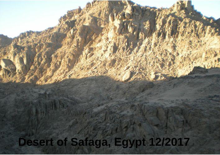 Desert of Safaga, Egypt 12/2017