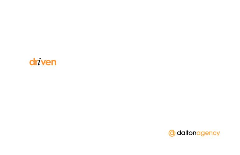Dalton: driven.