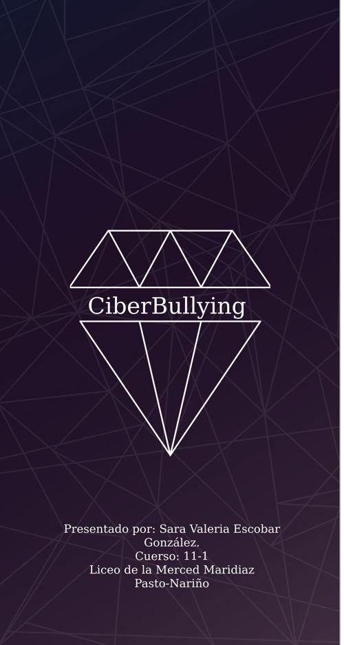Ciberbullying, NO te quedes callado
