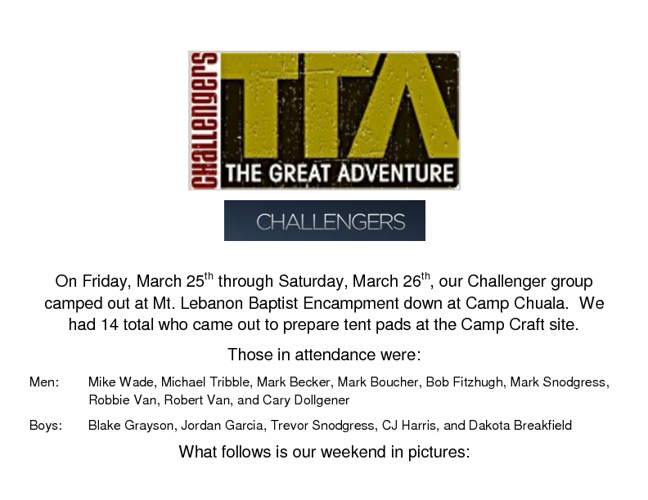 Challengers TGA