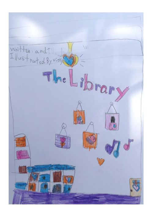 The Library by Violin