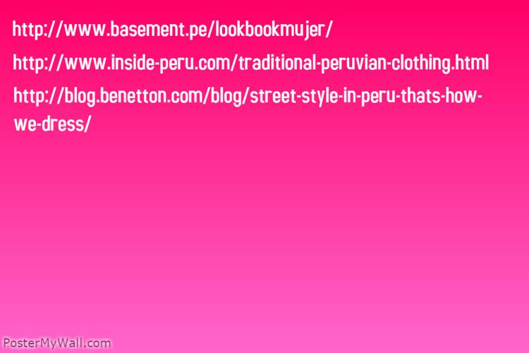 Peru Moda magazine