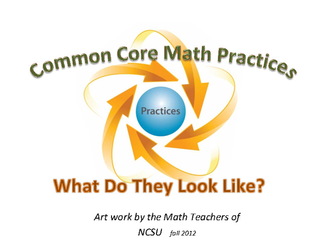Common Core Math Practices