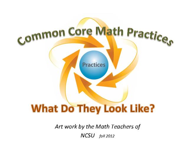 Common Core Math Practices