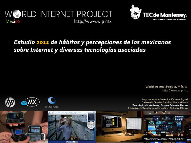 Estudio 2011 de habitos y percepciones de los mexicanos Web