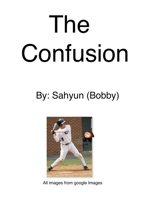 The Confusion (Realistic Fiction) (Writing)