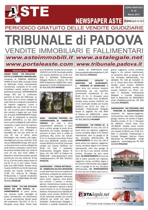 Padova marzo 2015
