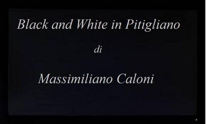 Black and White in Pitigliano