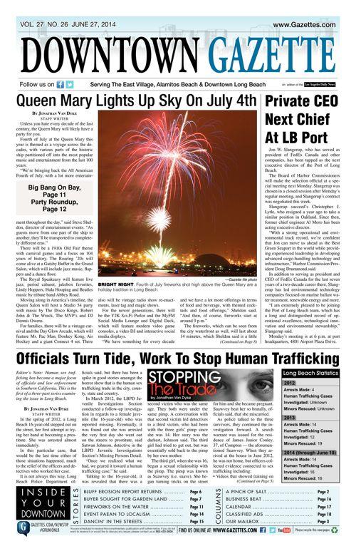 Downtown Gazette  |  June 27, 2014