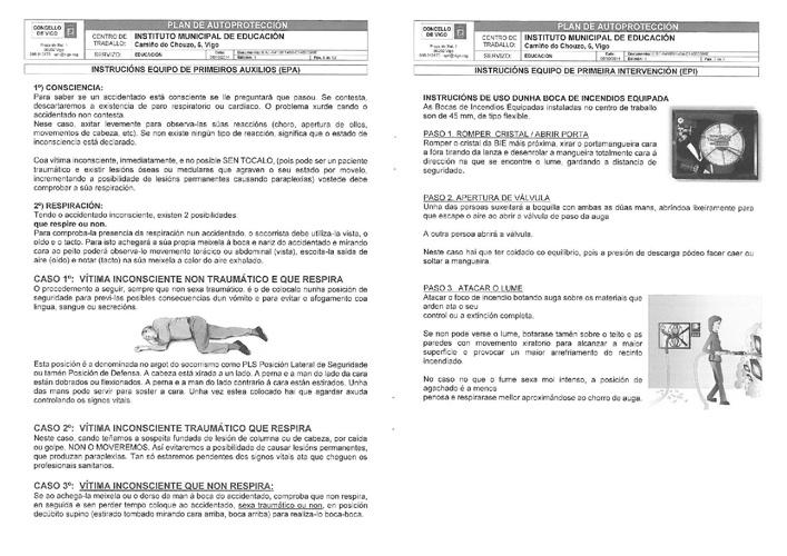 Protocolo de emerxencias do CFR de Vigo