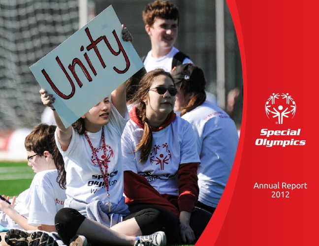 Special Olympics 2012 Annual Report