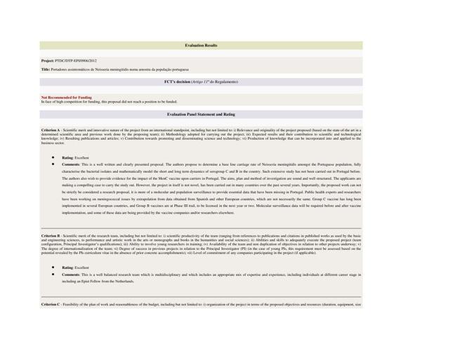 PTDC/DTP-EPI/0906/2012