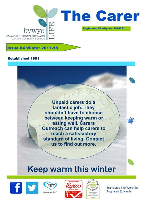 The Carer Issue 84 Winter 2017-18