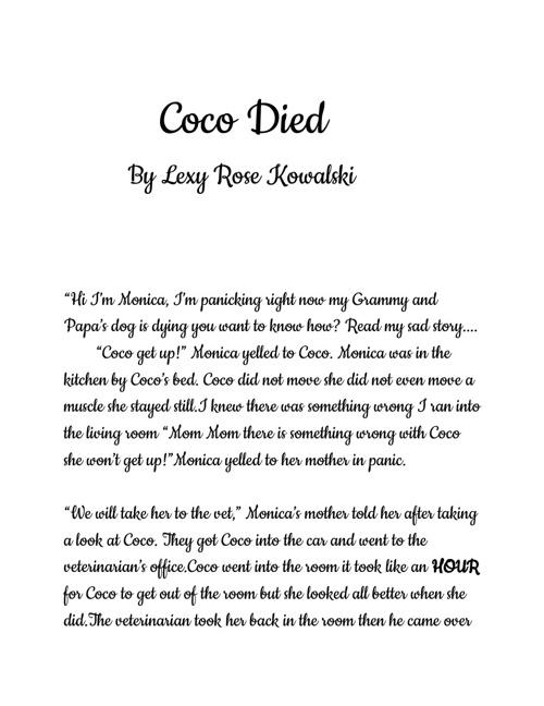 Coco Dies