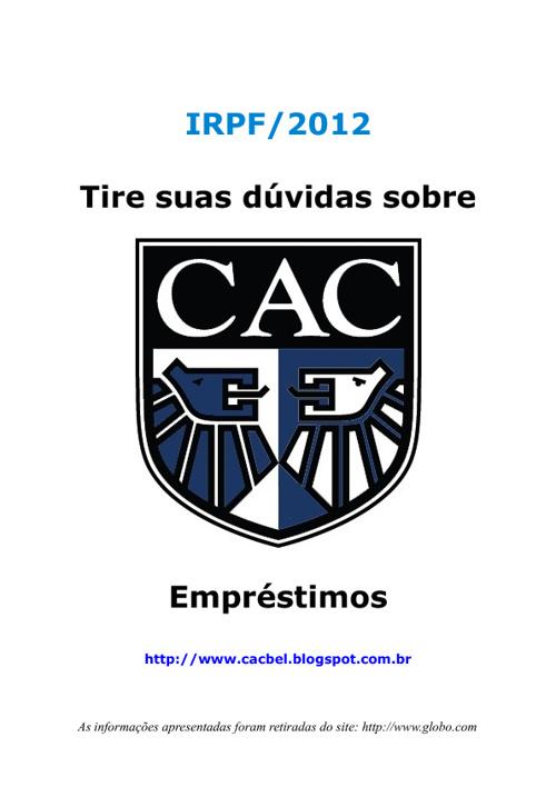 IR 2012 - Emprestimos
