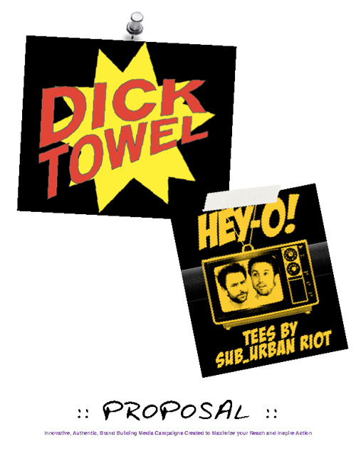 Copy of HEY-O / DICK TOWEL