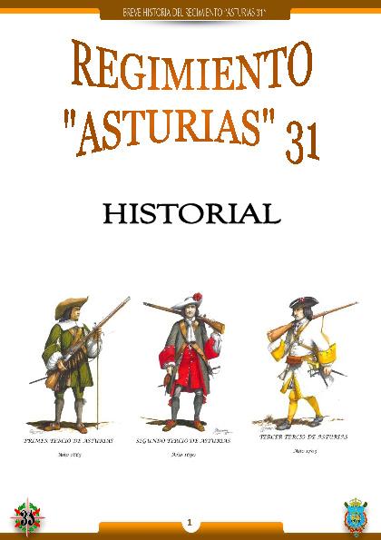 HISTORIAL DEL REGIMIENTO