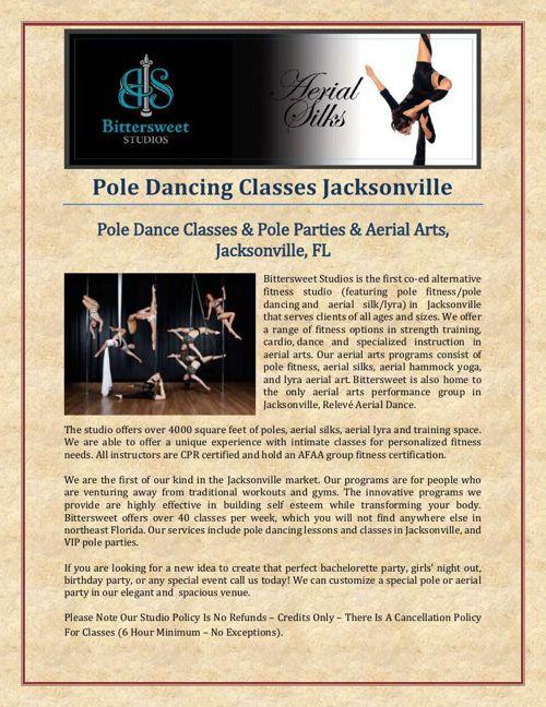 Pole Dancing Classes Jacksonville
