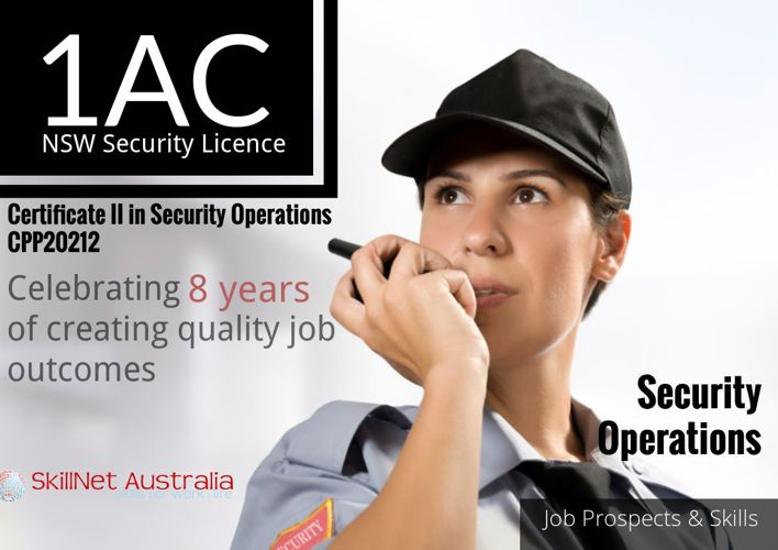Security Jobs - Skills and Prospects