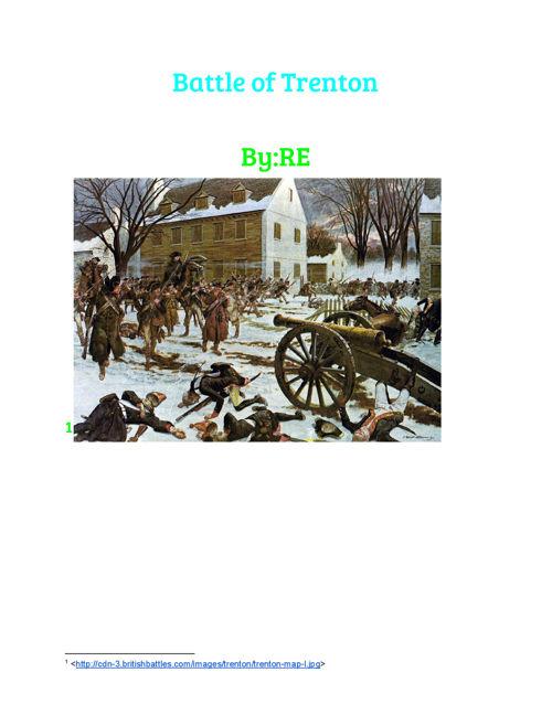 R Battle of Trenton