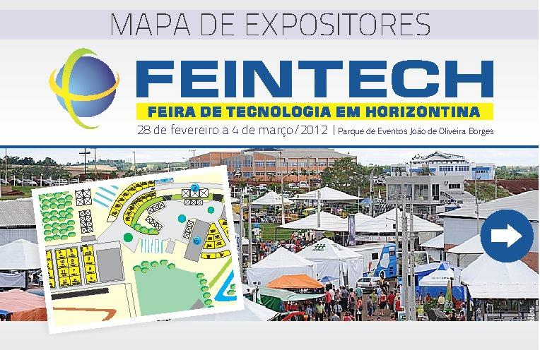 Mapa de Expositores FEINTECH 2012