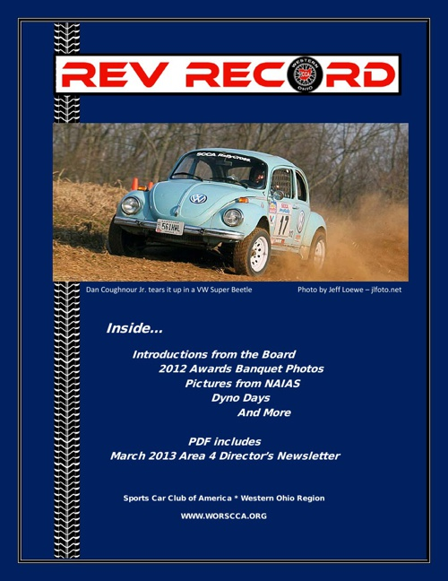 April 2013 Rev Record