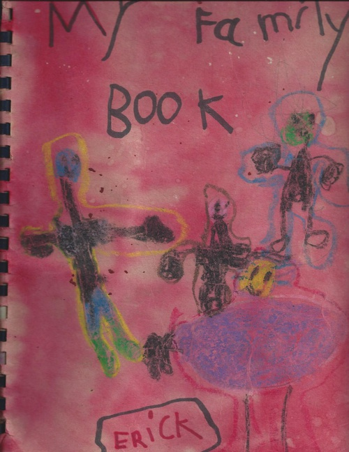 My Family Book By Erick