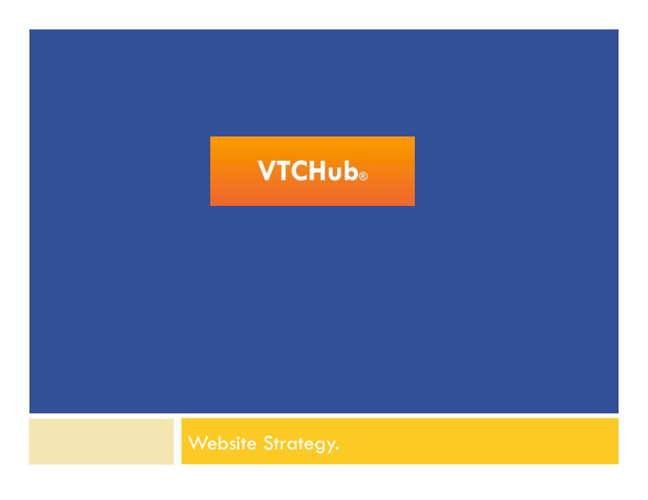 VTCHub Website Strategy - Adobe BC