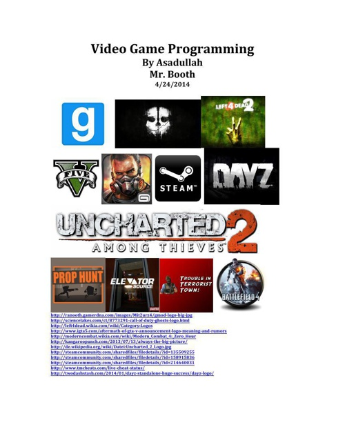 Video Game Programming by Asadullah