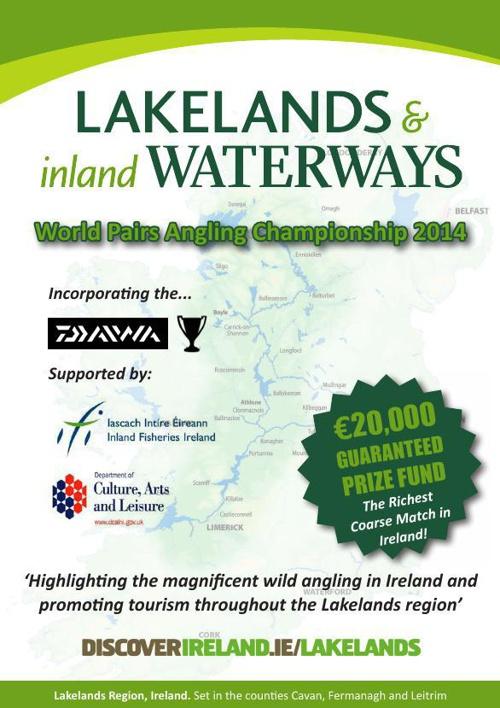 Lakelands & Inland Waterways World Pairs Angling Championships 2