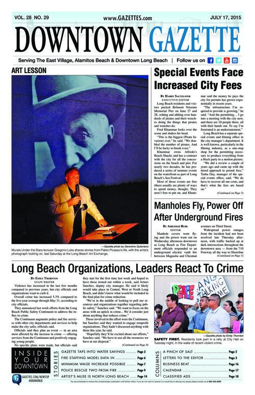 Downtown Gazette  |  July 17, 2015