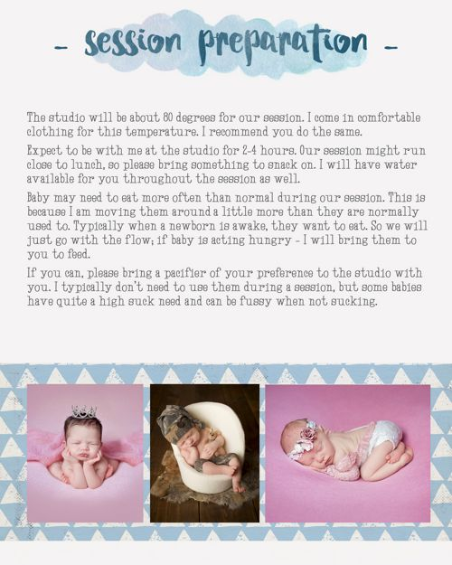 Nichole Lynn Photography Newborn Prep Guide
