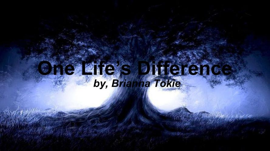One Life's Difference  (1)