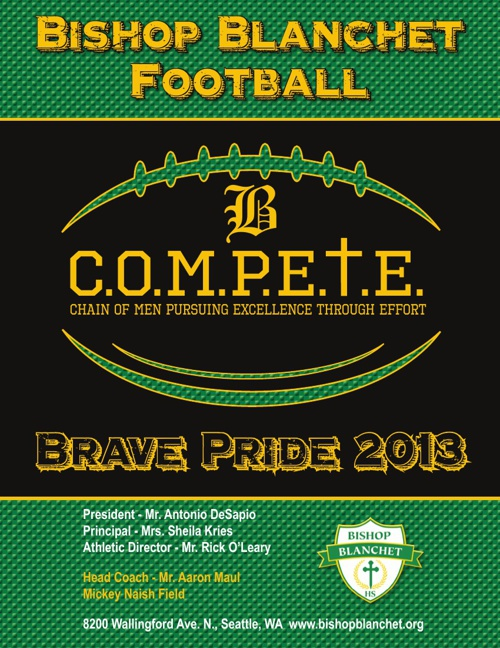 BRAVE PRIDE FOOTBALL 2013