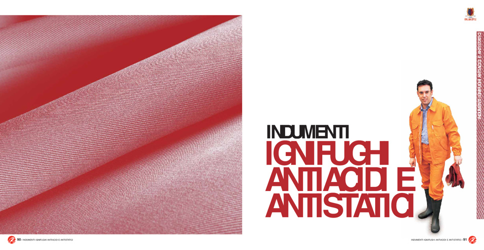 Catalogo Indumenti Ignifughi Antistatici Antiacidi Antimpigliame