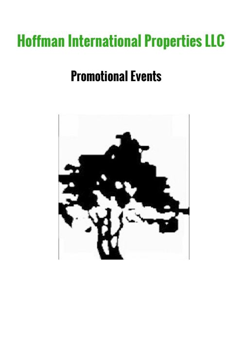 Hoffman International Properties Promotional Events
