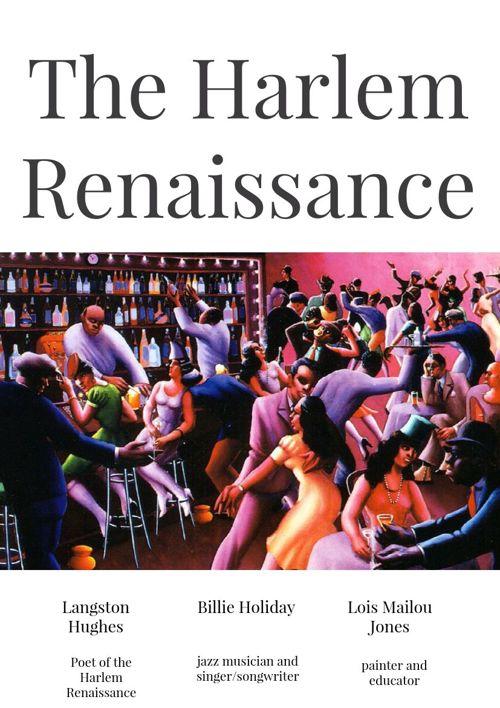 the harlem renaissance with langston hughes