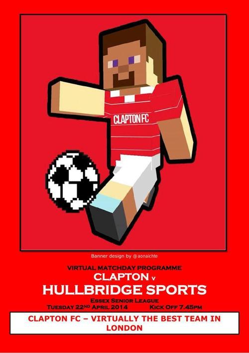 Clapton FC v Hullbridge Sports FC
