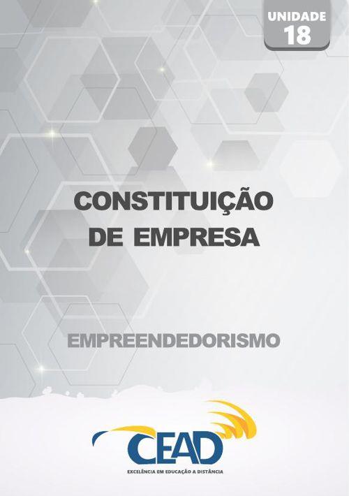 EMPREENDEDORISMO - UNIDADE 18