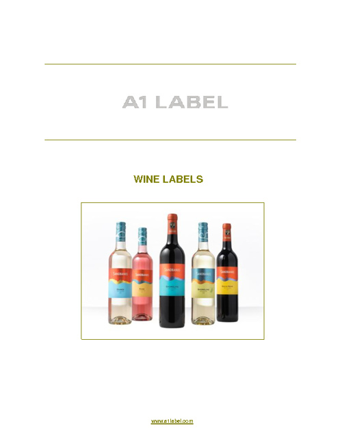 Custom Wine Labels by A1 Label