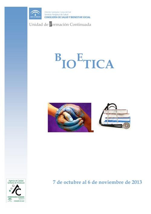 Curso de Bioetica (2013)