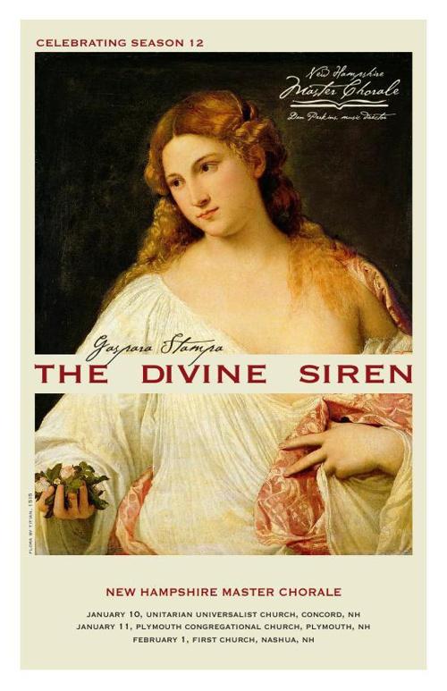 New Hampshire Master Chorale – The Divine Siren, Winter 2015