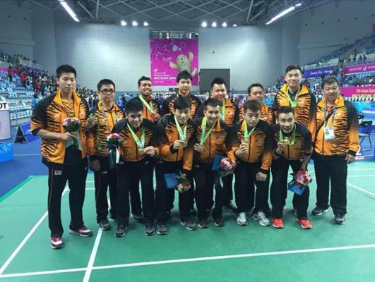 Incheon Asian Games bronze