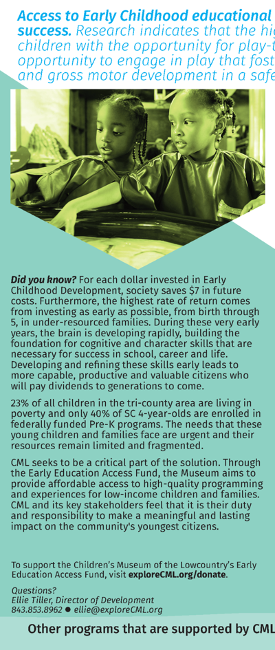 Early Education Access Fund Brochure 2016