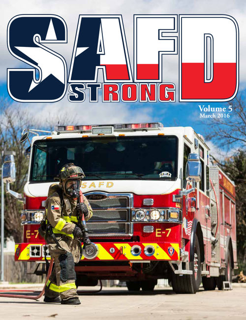 SAFD Strong: March 2016
