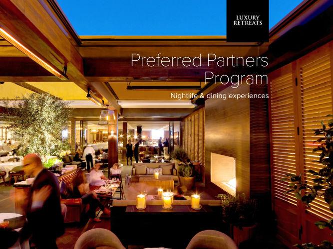 Preferred Partners Program