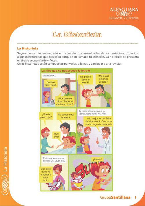 La historieta (Alfaguara)
